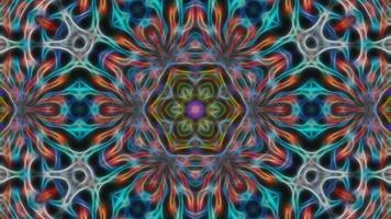 fundo abstrato multi-colorido