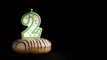 cumpleaños de dos años