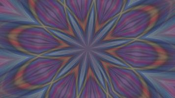 fundo caleidoscópio abstrato com um padrão animado