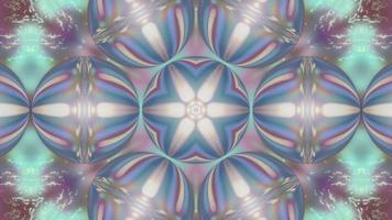abstracto pastel fondo caleidoscopio mandala video