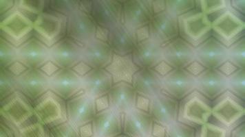 Fondo de caleidoscopio abstracto con un patrón animado video