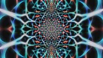 Abstract Multi-Colored Design Background