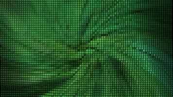 Fondo verde con textura abstracta con pequeñas esferas