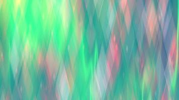 Abstract Neon Background with Multi-Colored Diamond-Shaped Bokeh
