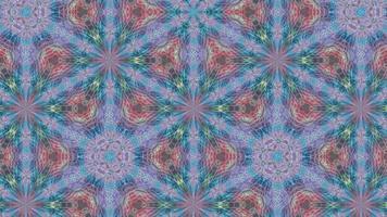 fundo pastel abstrato com um padrão de caleidoscópio cintilante video