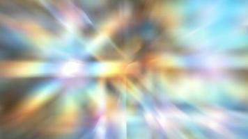 fundo abstrato arco-íris multicolorido com movimento video
