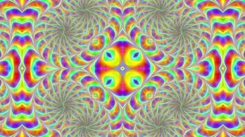 Abstract Rotating Multi-Colored Background