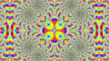 Fondo multicolor giratorio abstracto video