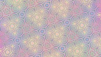 fundo abstrato iridescente com forma simétrica video