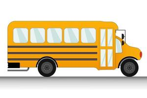 Stopped School Bus Illustrations vector