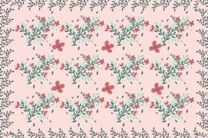 Floral Branch Seamless Pattern vector