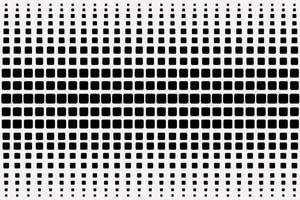 Beautiful Rounded Black Square Pattern vector