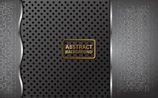 dark shiny abstract background vector