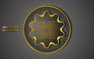 dark gold shiny abstract background