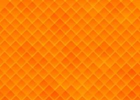 Stylish Gradient Orange Yellow Presentation Background With Creative Squares vector