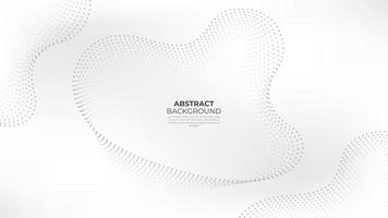 White abstract dots backrgound. White Abstract wavy paper cut background. Suit for business, corporate, institution, party, festive, seminar, and talks. vector