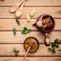 Natural herbal tea photo