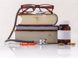concepto de libros médicos