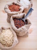 Bags of grains