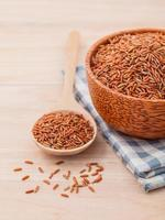 Whole grains in a bowl photo