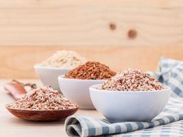 Bowls of whole grains