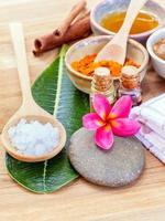 Organic natural spa treatment