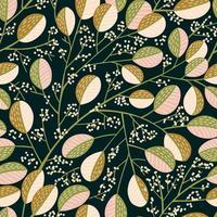 plantas de oro y rosa