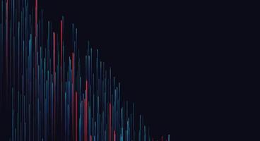 Líneas de velocidad compuestas de fondos brillantes, fondo de vector abstracto