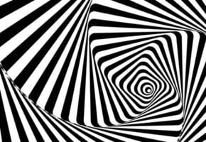 Abstract wavy lines optical illusion. Geometric background design. Vector illustration