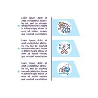 Big data analytics concept icon with text