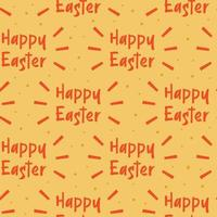 Happy Easter holiday decoration. Seamless pattern, texture, abstract background. Packaging design. Wrapping papper.