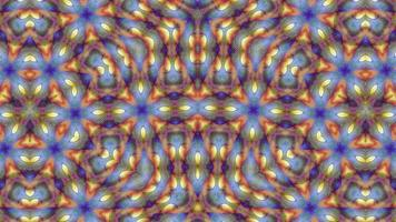 fundo laranja caleidoscópio fantasia abstrata