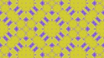 gelb-lila gemusterter Hintergrund