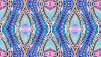 fundo abstrato caleidoscópio simétrico em tons pastel