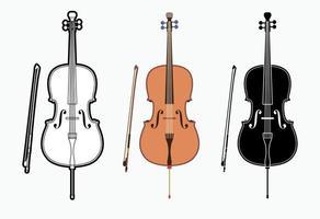 Cello Orchestra Music Instrument vector