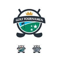 Great Golf logo designs badge vector, Golf Sport logo badge