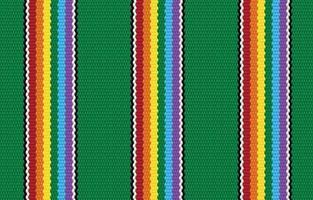 patrón geométrico sin costuras étnico de orgullo verde en estilo de tela. diseño para alfombras, papel tapiz, ropa, envoltura, batik, tela, estilo de bordado de ilustración vectorial en temas étnicos. vector