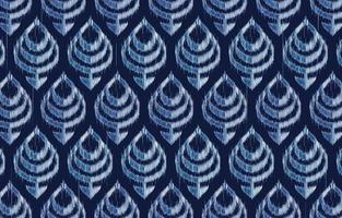 Abstract ethnic pattern in ikat design. Design for carpet, wallpaper, clothing, wrapping, batik, fabric, Vector illustration embroidery style in Ethnic themes.