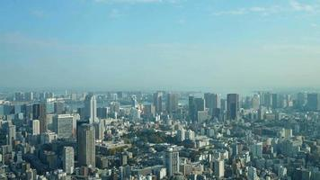 Timelapse Tokyo City with blue sky, Japan