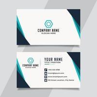 Name Card Template vector