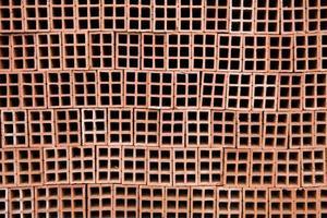 Pile of bricks photo