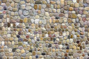 Detalle de la vieja pared de ladrillos