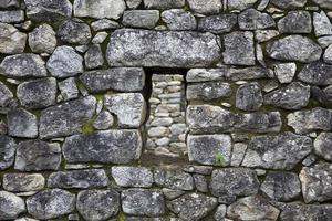 Old stone wall photo