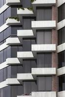 Detail of the modern building photo