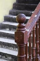Detail of the old staircase photo