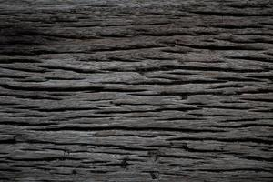Old dark wood background photo