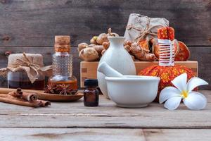 Herbal alternative spa treatment