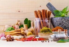 Cooking herbs and spices