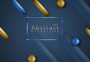Ilustración de fondo mínimo de formas de moda líquidas abstractas vector