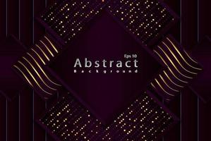 luxury abstract  background with illustration geometric square shapes vector